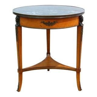 Empire John Widdicomb Gueridon Side Table For Sale