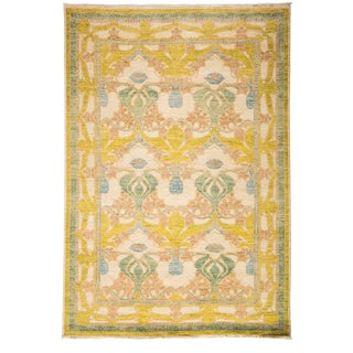 "Arts & Crafts, Hand Knotted Area Rug - 6' 2"" X 9' 1"" For Sale"