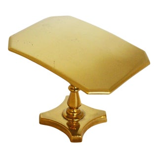 Miniature Brass Tilt-Top Breakfast Table For Sale