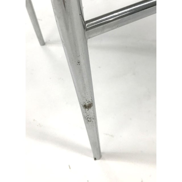"""""""Leggera"""" Chrome Chair by Gio Ponti, 1960s For Sale - Image 9 of 11"""