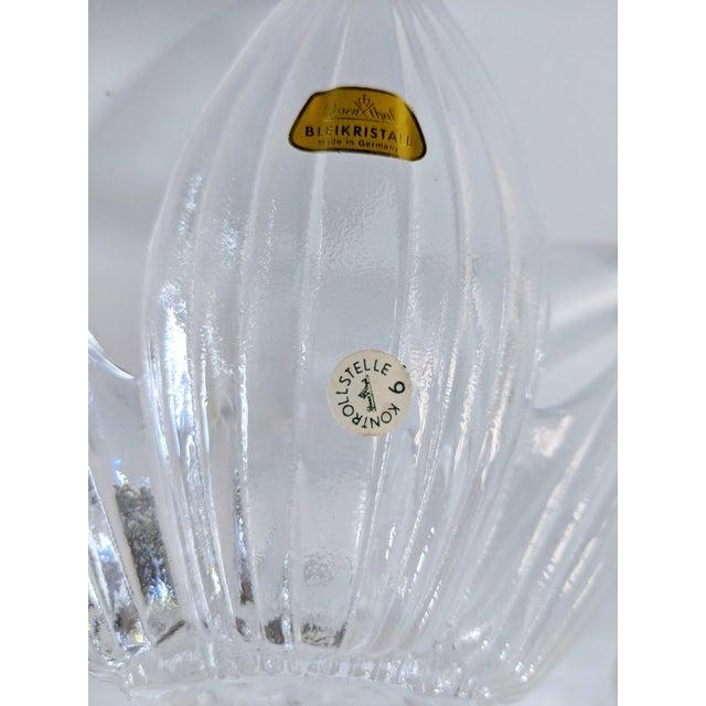 Rosenthal Studio Line Bleikristall German Glass Flower Petal Bowls - Set of 10 For Sale - Image 9 of 13