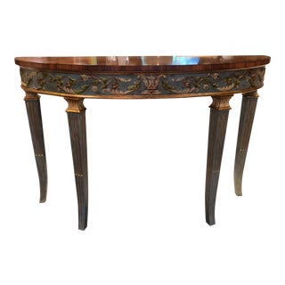 Theodore Alexander Console Table For Sale