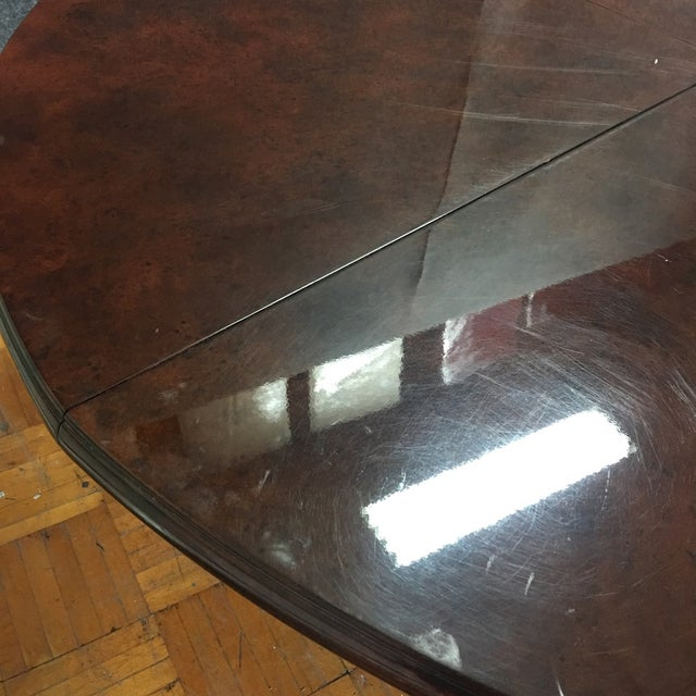Expandable Circular Dining Table - Image 10 of 10