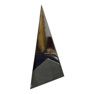 Mexican Modernist Prismas Pyramid by Diego Matthai, Signed For Sale