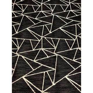 Kravet Design 35001 - 8 Modern Black and White Geometric Designer Crypton Upholstery Fabric - 10 Yards For Sale