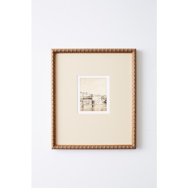 Late 20th Century Set of Twelve Architectural Landscape Etchings by Kenneth Gregg For Sale - Image 5 of 13
