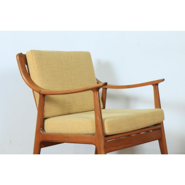 1960s 1960s Yugoslavia Yellow Side Chairs For Sale - Image 5 of 8