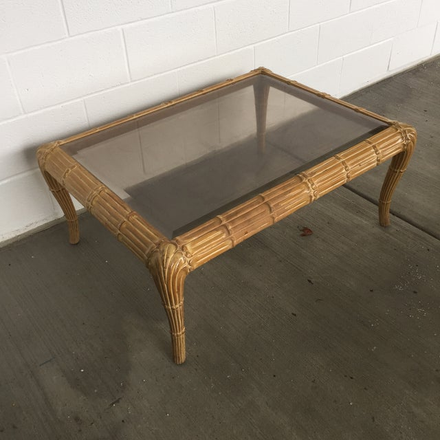 Vintage Art Deco Waterfall Coffee Table For Sale - Image 10 of 11
