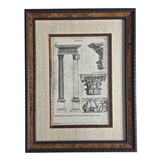 Classical Elemente of Architecture Print Plate #27 For Sale