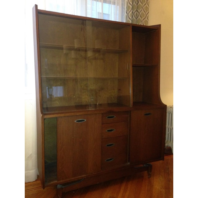 Mid Century Modern China Cabinet - Image 2 of 4