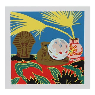 Hunt Slonem, Crystal Ball, Serigraph For Sale