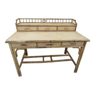 Bamboo Woven Galley Desk
