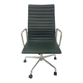 1990s Herman Miller Eames Aluminum Group Chair For Sale