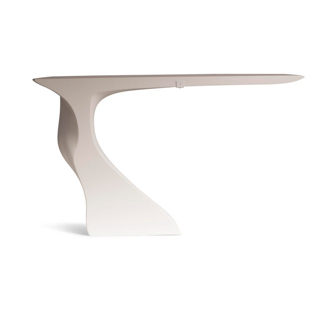 Amorph Amorph Frolic Console White Matte Wall Mounted For Sale - Image 4 of 7