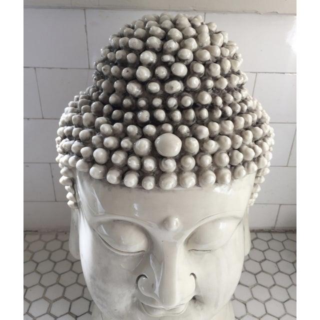 Chinese Blanc De Chine Buddha Head - Image 4 of 9