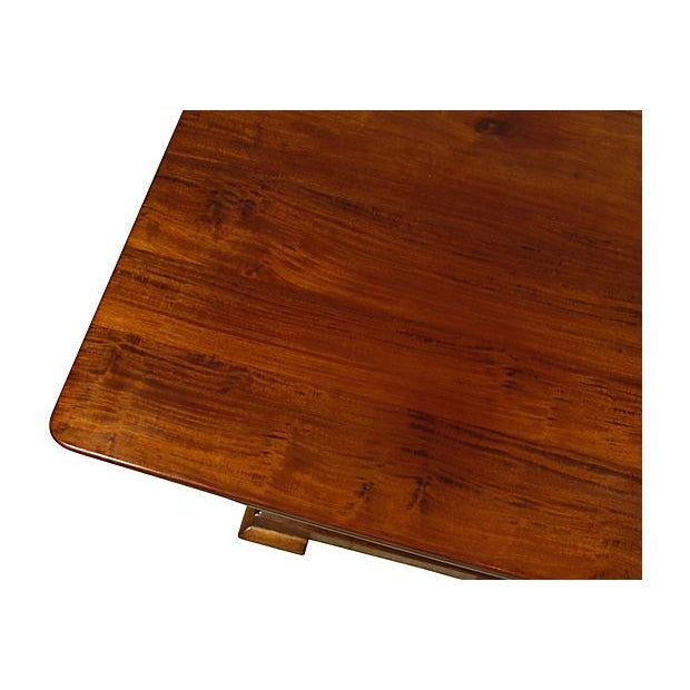 19th Ameican Empire Mahogany Breakfast Table - Image 4 of 6