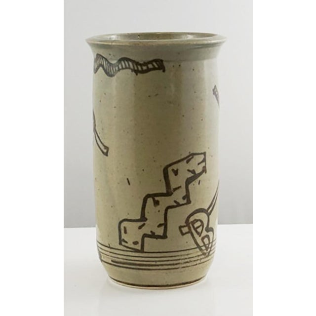 Laguna Beach's Pottery Shack Vase with beach inspired designs. Now a restaurant, the Pottery Shack in its day was a haven...