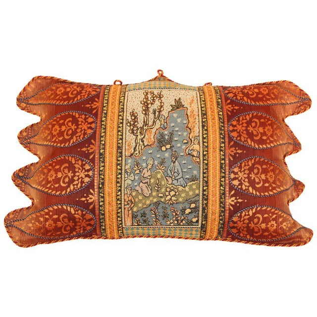 Middle Eastern Decorative Throw Pillow For Sale - Image 11 of 11