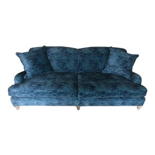 Ralph Lauren / Lee Industries Sofa in Blue Velvet