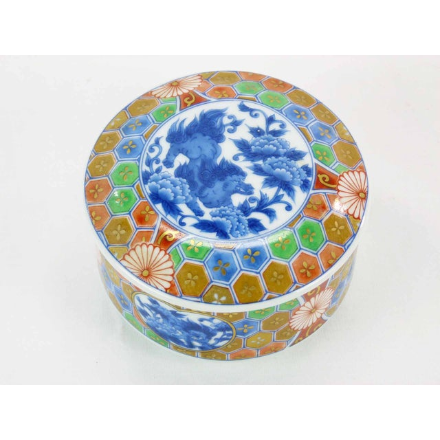 Japanese Imari Porcelain Trinket Box - Image 4 of 6