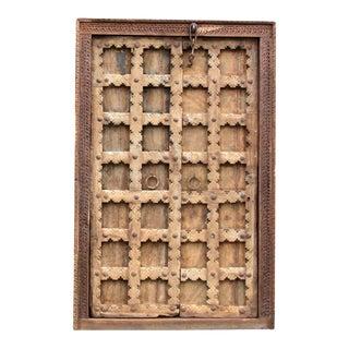 Antique Moorish Star Haveli Door