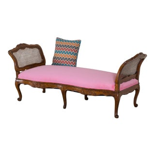Antique French Louis XV Period Walnut Daybed circa 1760 For Sale