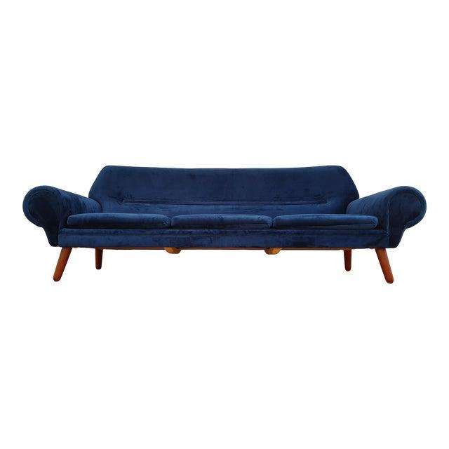 1960s Vintage Kurt Østervig Danish 3 Seater Sofa For Sale