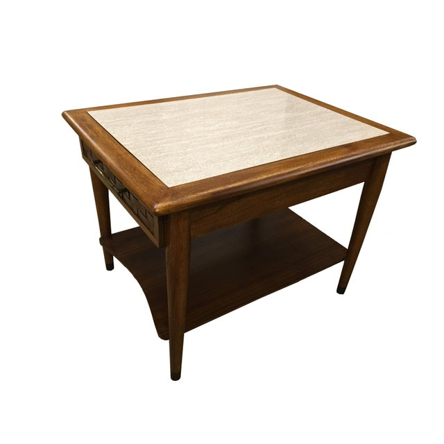 Mid-Century Modern Walnut Side Table - Image 2 of 6