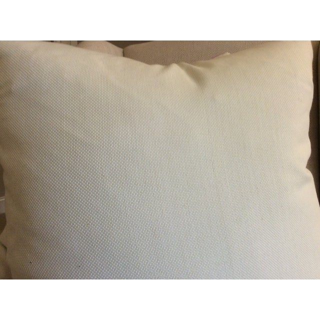 C & C Milano Zip-Zip Orchid Down Pillows - a Pair For Sale - Image 4 of 4