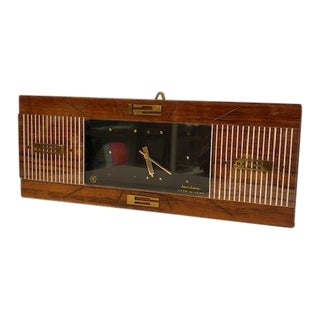 Usa Jantz Co. Mid-Century Modern Clock Made For Sale