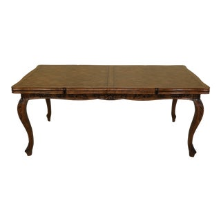 Guy Chaddock Country French Parquetry Dining Room Table For Sale