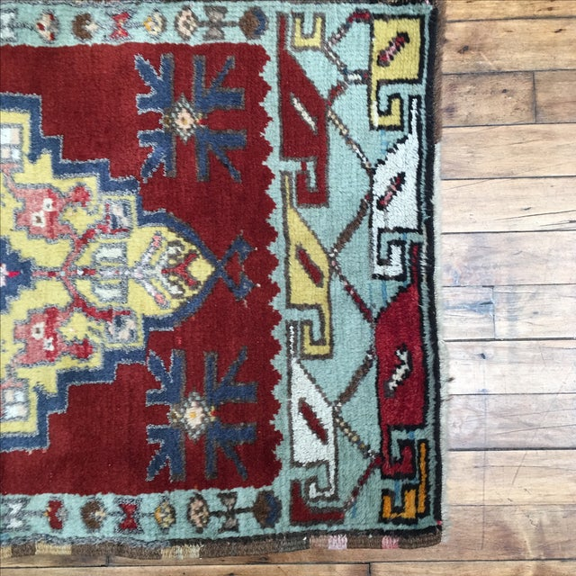 Vega Small Turkish Tribal Rug - 2′1″ × 3′2″ - Image 3 of 7