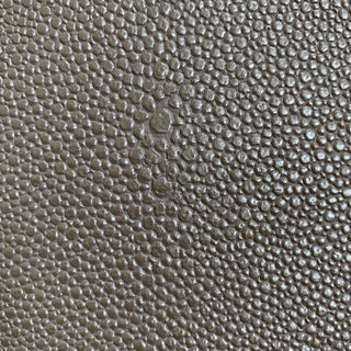 Grey Faux Shagreen Textile Fabric For Sale