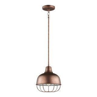 Olivia One Light Pendant, Copper For Sale