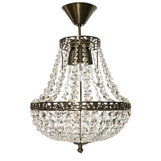 Octagonal Empire Chandelier For Sale