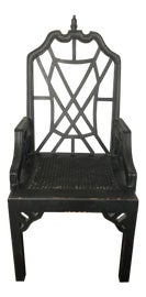 Image of Chinoiserie Dining Chairs