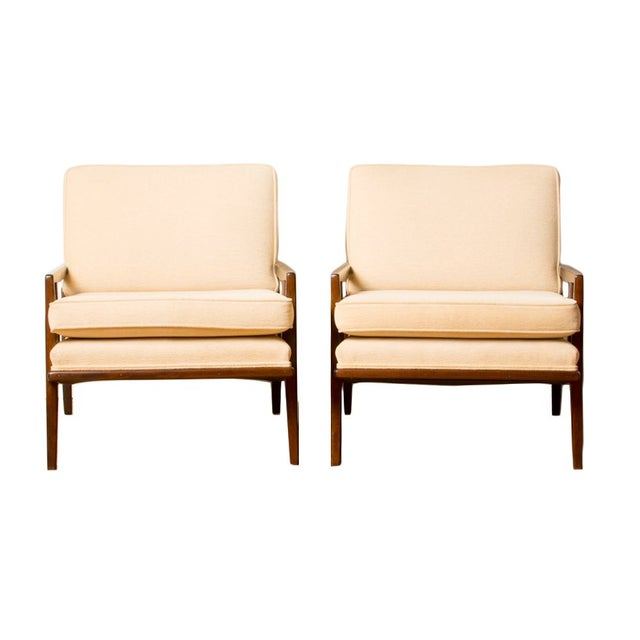 Brown Mid-century Armchairs Designed by Paul Mccobb, Circa 1950 - A Pair For Sale - Image 8 of 8