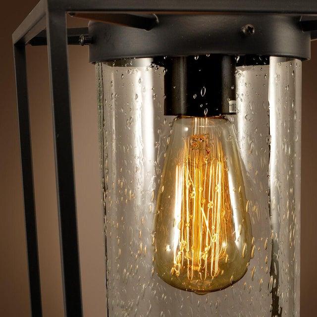 Vintage Style Iron Glass Pendant Light - Image 3 of 4