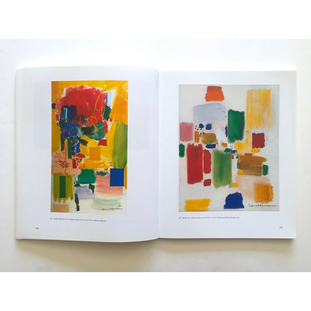 Blue Hans Hofmann Rare Vintage 1990 1st Edition Abstract Expressionist Collector's Whitney Museum Exhibition Art Book For Sale - Image 8 of 13