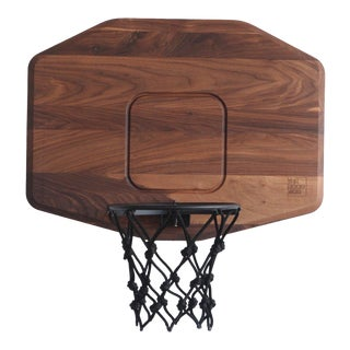 Mid-Century Modern Tgm Wooden B-Ball Hoop For Sale