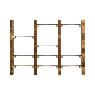 Paul Evans Wall-Mounted Book Shelves For Sale