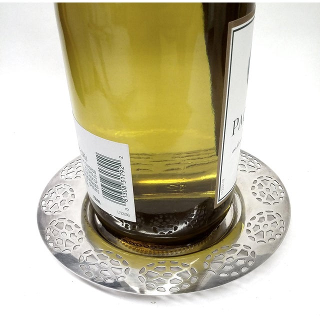Oneida Silver Cutout Wine Plate - Image 10 of 10