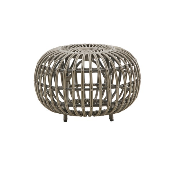Not Yet Made - Made To Order Franco Albini Small Exterior Ottoman - Moccachino For Sale - Image 5 of 5