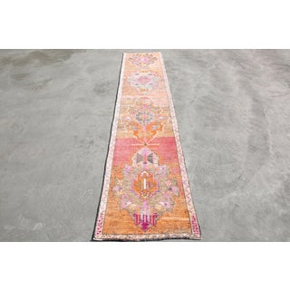 """1970s Vintage Anatolian Rug-2'7'x11'10"""" Preview"""