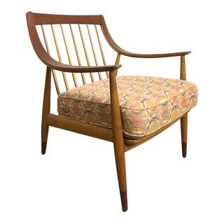 1950's Early Peter Hvidt & Orla Molgaard Nielsen Teak/Oak Lounge Chair For Sale