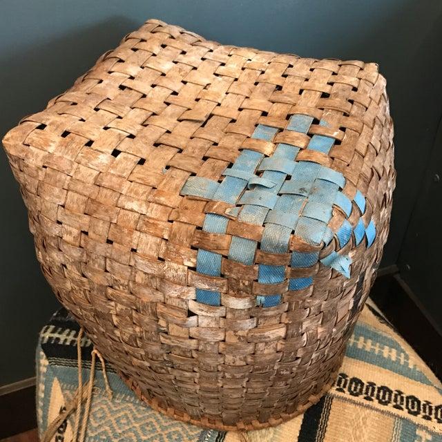 Antique Chinese Basket - Image 8 of 9