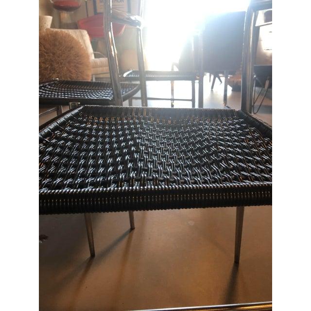 1960s Gio Ponti Chrome Frame Leggera Chair For Sale - Image 5 of 9