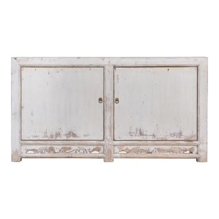 Rustic Farmhouse Style Cabinet For Sale