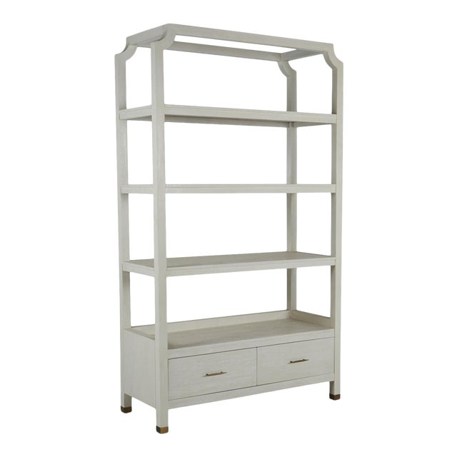 Gabby Home Crest Bookcase For Sale