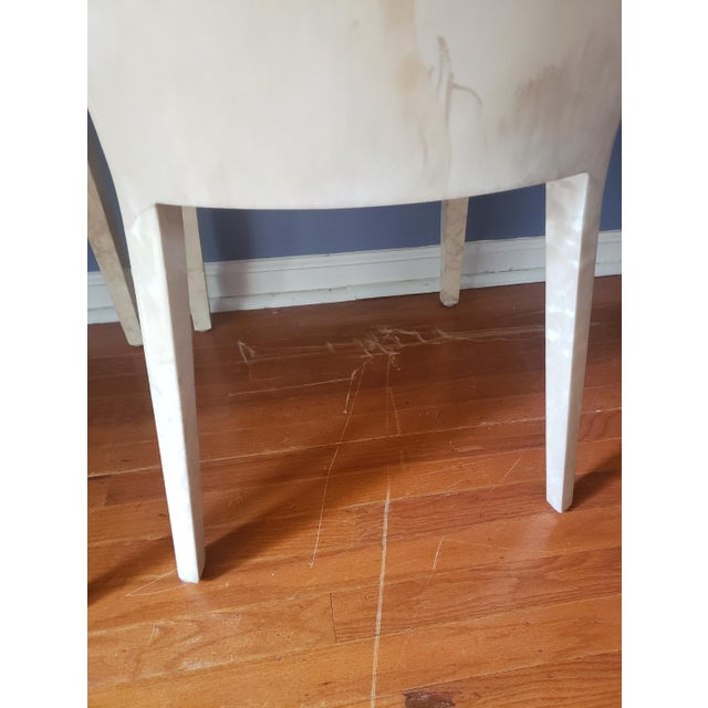 1980s Vintage Karl Springer Jmf Chairs- A Pair For Sale - Image 10 of 13
